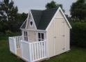 domek dla dziecka -kremowo biały