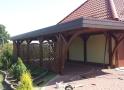 Wiata garażowa  PDP 001 - 40 m²