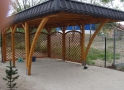 Wiata garażowa  WDP 002 - 18 m²