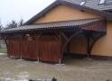 Wiata garażowa  PDJ 001 - 36 m²