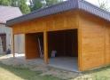 Wiata garażowa  WDJ 001 - 41,50 m²
