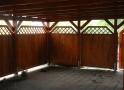 Wiata garażowa  PDP 008 - 46 m²