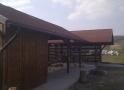 Wiata garażowa WDD 008 - 48 m²